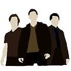 Supernatural- Sam,Dean and Castiel by smirkingjim