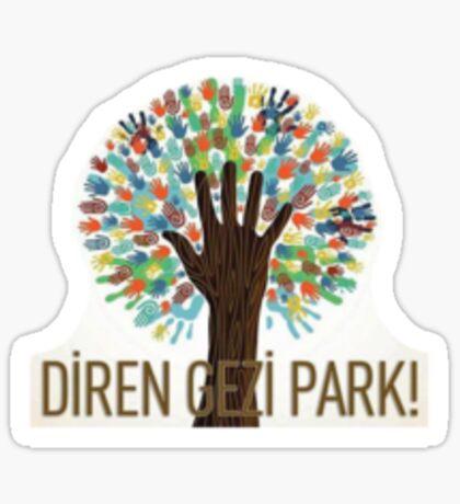 Diren Gezi Park Sticker