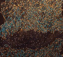 Gap - constellation painting by artbytego
