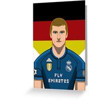 Toni Kroos Greeting Card