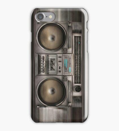 Boom Box Ghetto Blaster iPhone Case/Skin