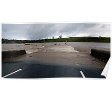 River Lune in Flood Poster