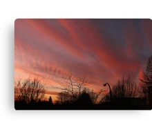 Rosy-Fingered Evening Canvas Print