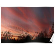Rosy-Fingered Evening Poster