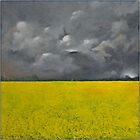 Storm over the Rape Field by Alan Stevens