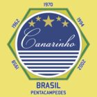 Brasil Canarinho by Calum Margetts Illustration