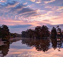Dawn on Lake Martin HDR by Paul Wolf