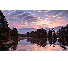 Dawn on Lake Martin HDR Photographic Print