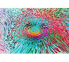 Spinning Abstract Photographic Print