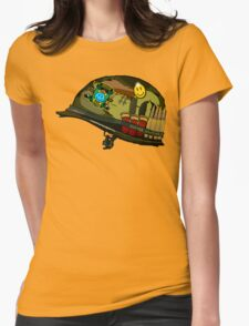 Watchmen - Viet Nam Helmet Womens Fitted T-Shirt