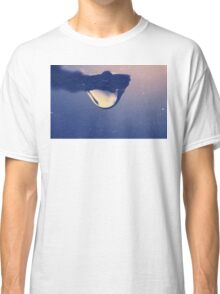 Water drop on the branch Classic T-Shirt