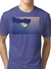 Water drop on the branch Tri-blend T-Shirt