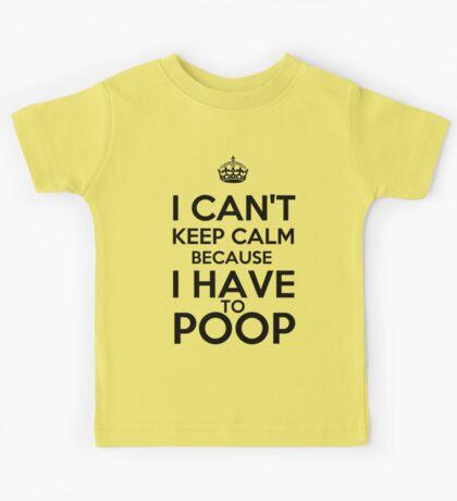 Have to Poop Kids Tee