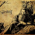 Gandalf the Grey by Alessia Pelonzi