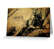 Gandalf the Grey Greeting Card
