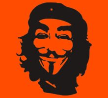 Chenonymous- (Che Guevara/Anonymous) by Slave UK