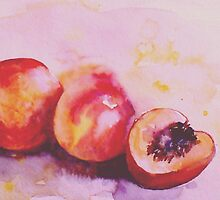 peaches for me by Rebecca Yoxall