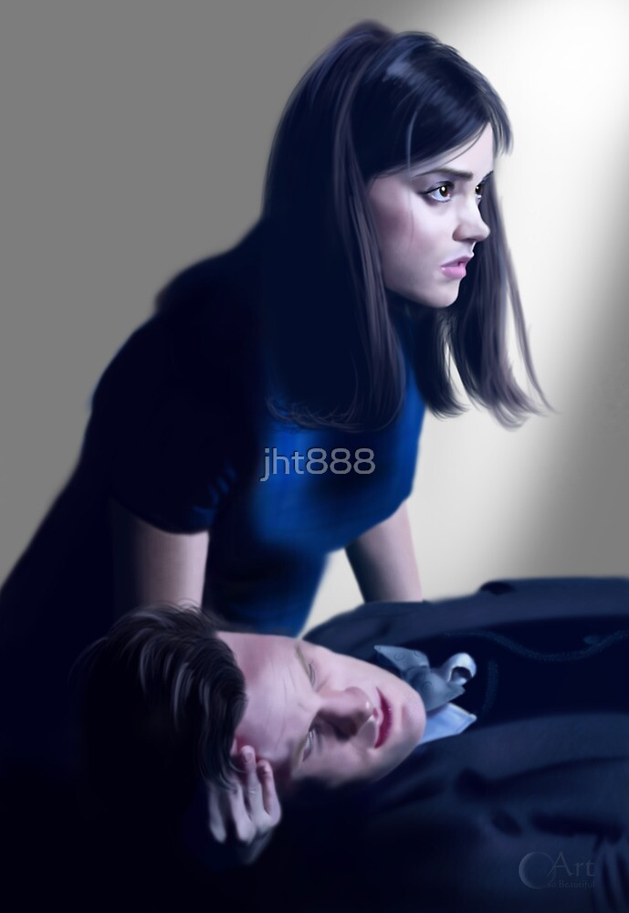 Dr Who and Clara Oswin Oswald by jht888
