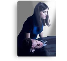 Dr Who and Clara Oswin Oswald Metal Print