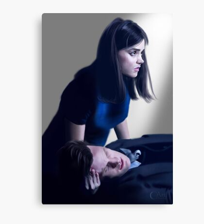 Dr Who and Clara Oswin Oswald Canvas Print