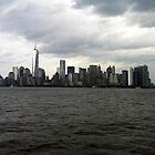 Manhattan Skyline by GracieHb