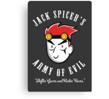 Jack Spicer's Army of Evil Canvas Print