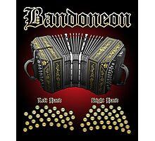 Bandoneon Photographic Print