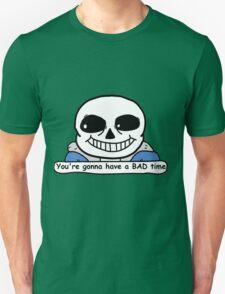 Undertale - Sans, Bad Time Unisex T-Shirt