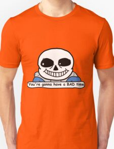 Undertale - Sans, Bad Time Unisex T-Shirt