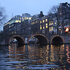The Lights of Amsterdam by Michael & Alyssa Straus