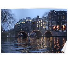 The Lights of Amsterdam Poster