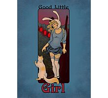 Good Little Girl Photographic Print