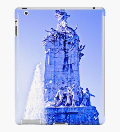Divine between intense blues. iPad Case/Skin