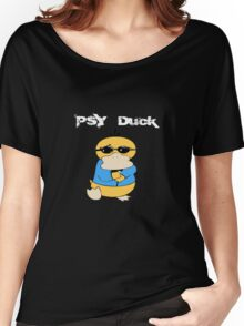 PSYduck White Women's Relaxed Fit T-Shirt