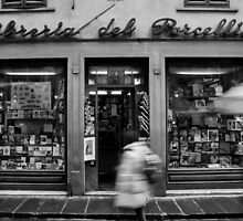 Book Shop  - Florence - Italy by Dimbledar