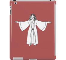 Delenn (Christmas, bw) iPad Case/Skin