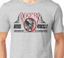 usa warriors indian by rogers bros Unisex T-Shirt