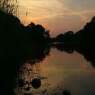Grand River Sunset by Michael & Alyssa Straus