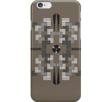 Geoform_Brown iPhone Case/Skin