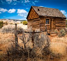 Morrell Cabin by R. Mike Jacobson