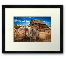 Morrell Cabin Framed Print