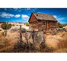 Morrell Cabin Photographic Print