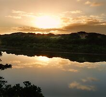 Sunrise on the Sundays River, S.Africa by Johanna26
