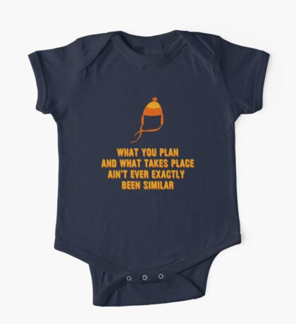 Jayne Hat Shirt - What You Plan One Piece - Short Sleeve