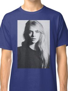 cara black and white Classic T-Shirt