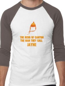 Jayne Hat Shirt - The Man They Call Jayne Men's Baseball ¾ T-Shirt