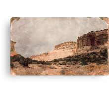 Antique Desert Canvas Print