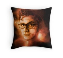 The 10th Doctor Throw Pillow