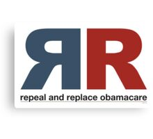 Repeal And Replace Obamacare Canvas Print