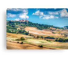 Autumn In Pienza Canvas Print